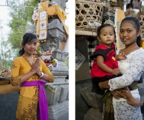 Marianne / Juni & baby Dewi: family shrine ceremony