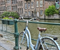 More canal & more bikes....