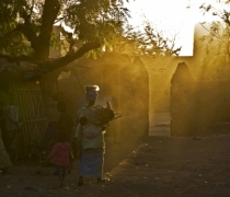 Djenne sunrise