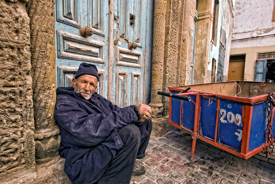 Fares Samo - RIP - our favorite Carossa in Essaouira; sadly passed away a few years ago.