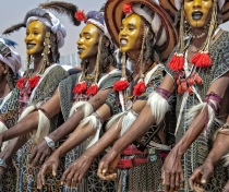 Wodaabe men