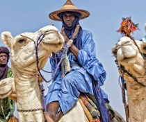 Peul on his camel