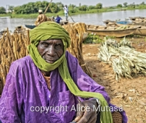 Souley from Danbou village - he was selling millet at Boubon market