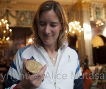 Katherine Grainger: Olympic gold medallist, London 2012