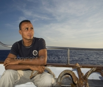 Mahmoud: sailor; Egyptian Red Sea