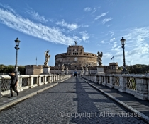 Ponte Sant'Angelo - early morning