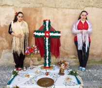 'Dia de la Cruz' / Day of the holy cross, Albaicin, Granada