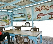 Fish restaurant, Suakin