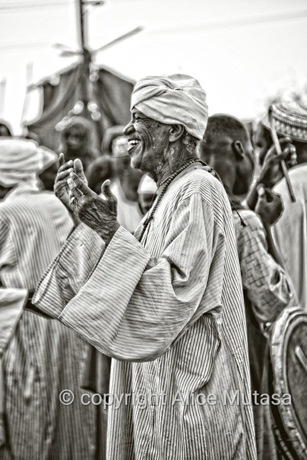 Sufi dancing and drumming at the tomb of Hamed el-Nil, Omdurman, Sudan