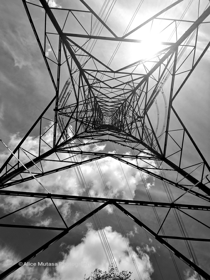 Pylon, somewhere along the Lee Valley