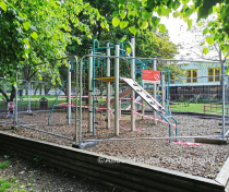 Locked down playground - Downhills Park