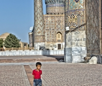 Small boy in the Registan