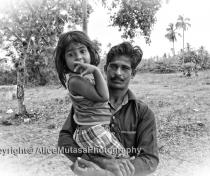 Sudarsen & his daughter Sudarseni