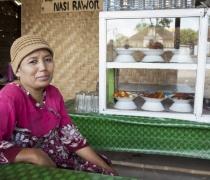 Munira: warung 'Nasi Rawon', Lombok