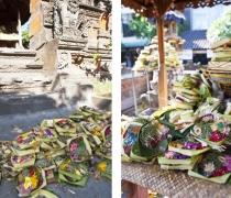 Kuta shrine offerings
