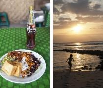 Warung 'Nasi Rawon', & Lombok sunset