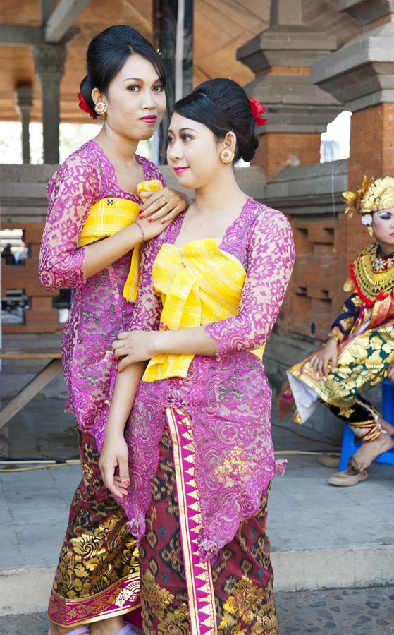 Suriya & friend; students of 'Yap Foundation' project, Pemuteran, Bali