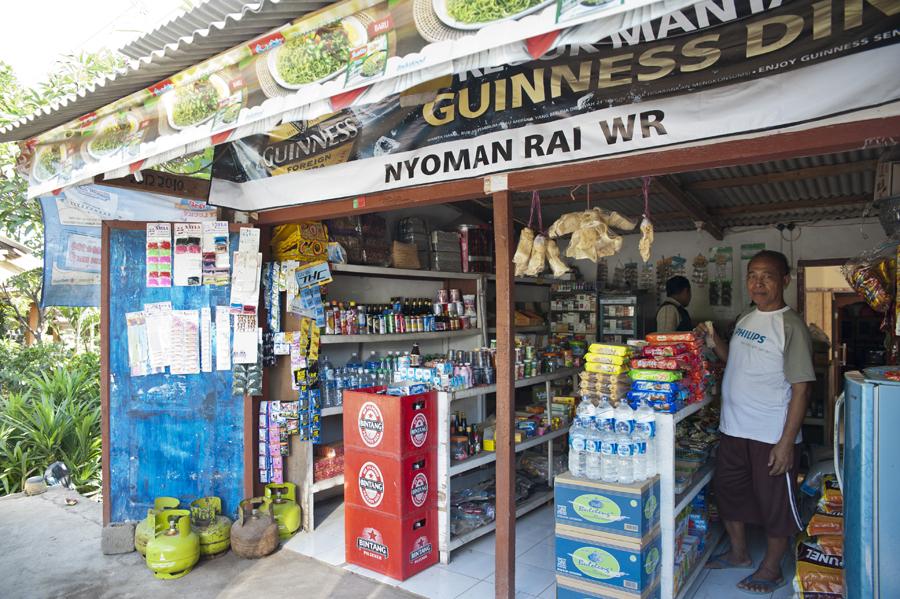 Food shop, Bali