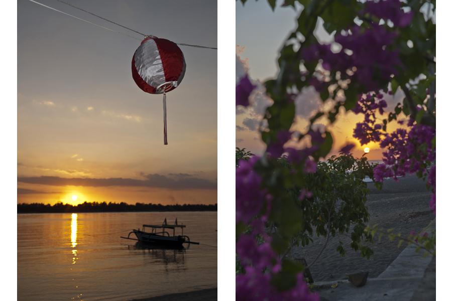 Gili Meno sunset / Amed sunrise