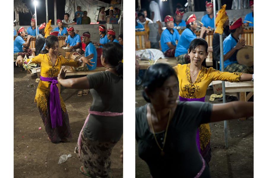 Dewa Ayu ('Kriss') trance spirit possession ritual