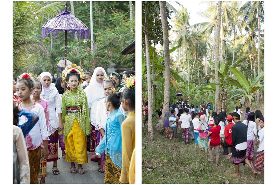 Eddie & Neila's wedding procession