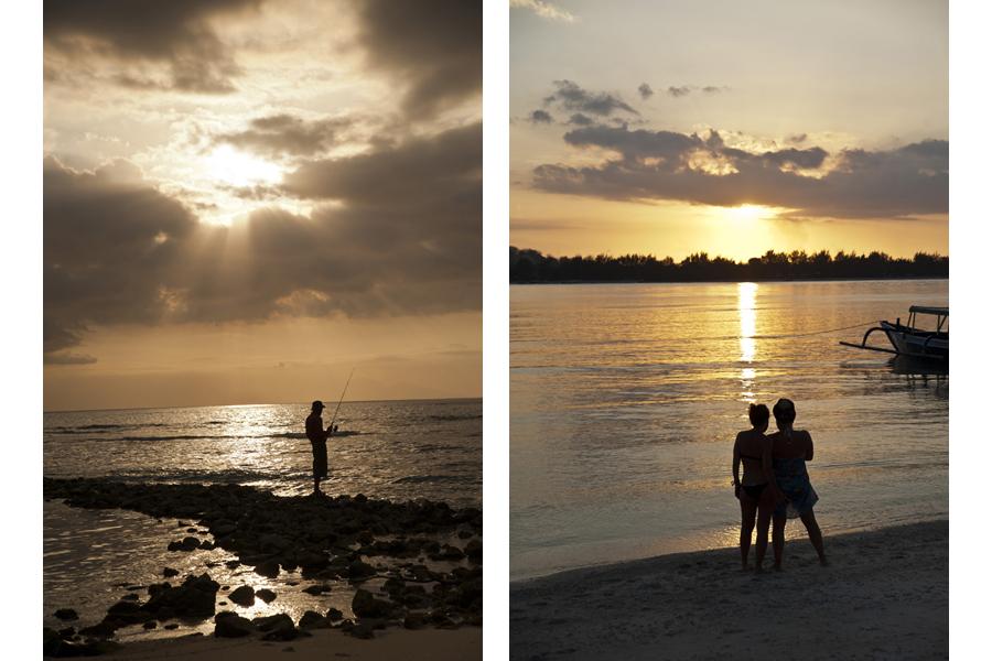Lombok / Gili Meno sunsets