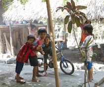 Opek, Rhiski, Adam - Kukuran village, Lombok