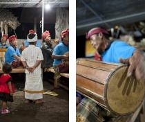 Gamelan orchestra from Pujarakan village: family shrine ceremony - Sumerkima village
