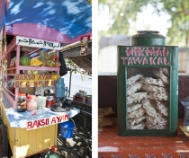 Bali food stalls