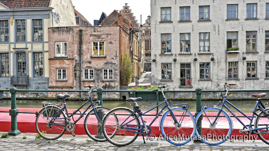 Canal & bikes