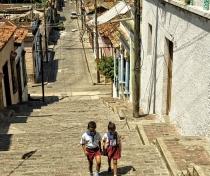 Steps of Calle Padre Pico; Santiago de Cuba