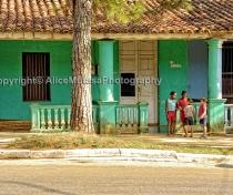 Kids in Trinidad, Cuba