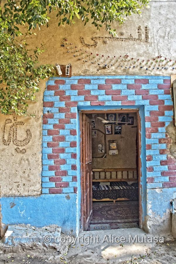 Al Qurna village near Luxor