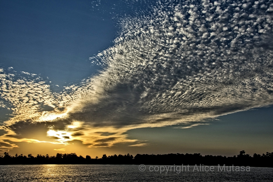 Nile sunset.....