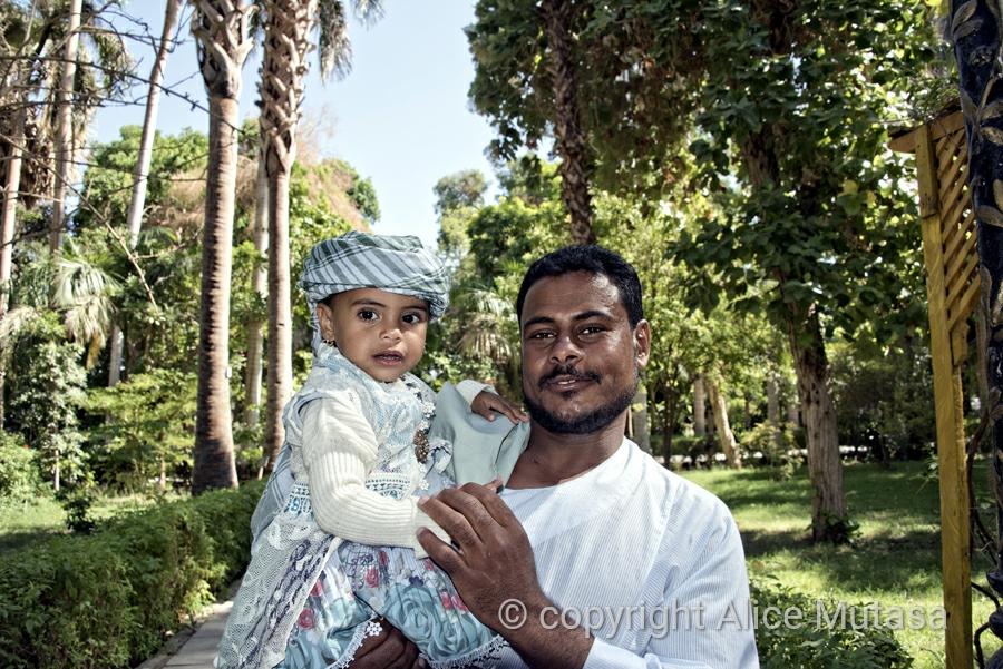 Ibrahim and little Ritaj
