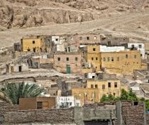 Abandoned village near Luxor