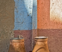 'Mazira' / 'Zeer' - water coolers found on many streets for anyone to drink from