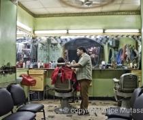 Barber in Aswan souq