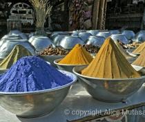 Spices - market in Gharb Seheil village