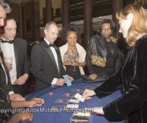 Casino at fund-raising event
