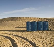Desert toilets....