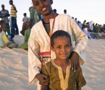 Ousmane & little cousin