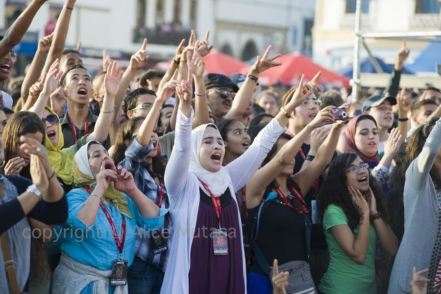 Festival Gnaoua audience
