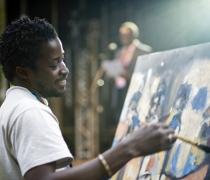 Casimir Bationo - resident artist