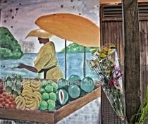 Wall art, Deshaies market place