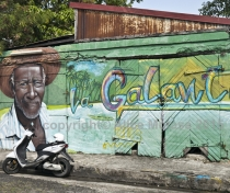Wall art, Marie Galante