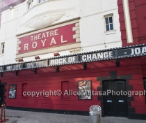 'I built my life on the rock of change' - Joan Littlewood
