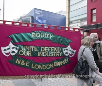 Equity London NE branch banner