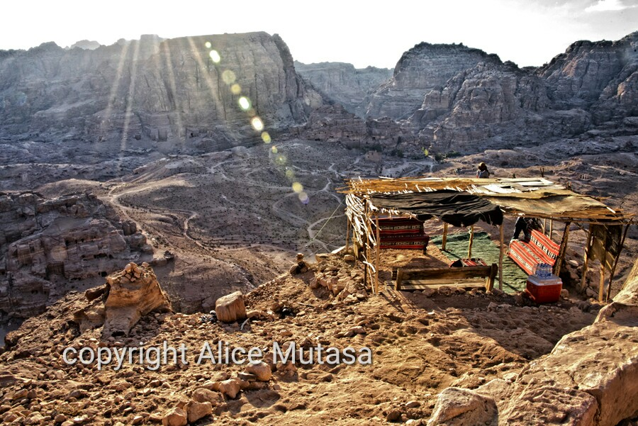 Somewhere in Petra