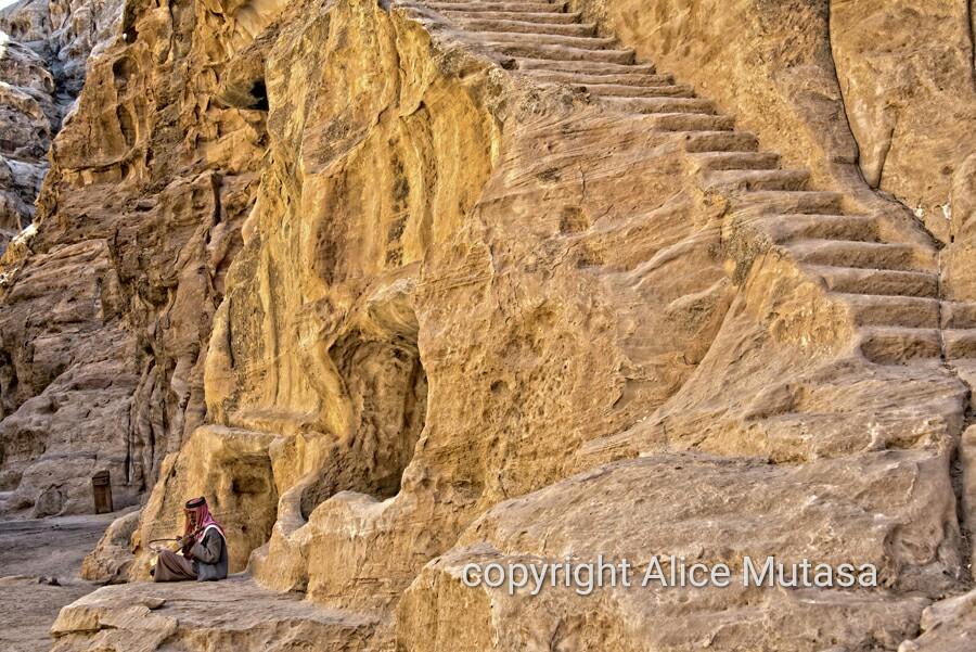 Salman in Little Petra